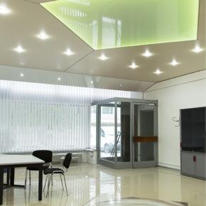 Büro, Gestaltung, Spanndecken, Beleuchtung, Fliesen, Karlsruhe, Waldstadt
