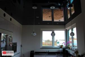 Spanndecken Hochglanz im Erdgeschoss
