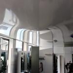 Spanndecken - Ein Wasserschaden im Friseursalon