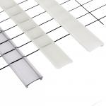 Abdeckung für LED Profil einclipsbar 202cm transperent, mattiert oder milchig