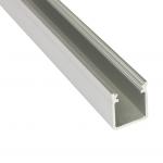 Aluminium LED Profil Aufputz , Länge 202cm, silber