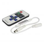 Dimmer für einfarbige LED Streifen mit Fernbedienung EP 100