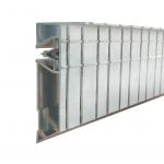 Profil für doppelte Decken Aluminium geschnitten